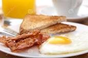 Comida para el desayuno