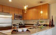 Ample Kitchen Space