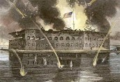 Fort Sumter Under Attack