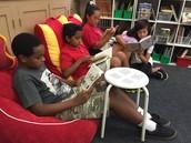 5th Grade Reading Nooks