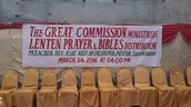 Pastor Arif's Ministry