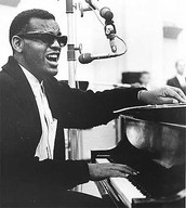 Ray Charles played a mean piano.