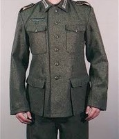 This is a uniform made of shoddy