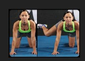 This is one of the many exercises you need to do to tone the butt up