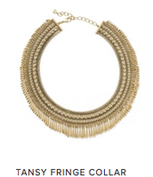 Tansy Fringe Collar  Reg $138 ~ Sale $69