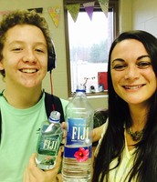 Staying hydrated in Health Class