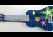 גיטרה כחולה