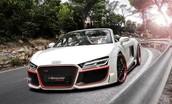Audi R8 spyder 2015