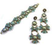 Whiskers Earrings & Bracelet