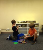 Quinn and Ben Tackle New Work on the Block: LEGOs