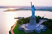 People can have liberty from a statue.