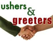 Usher/Greeter Training on October 30