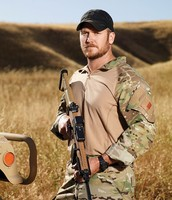 how many tours did Chris Kyle serve overseas?