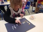 Corn Name Writing
