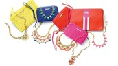 Clutches, wristlet wallets and zip pouches
