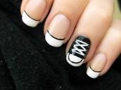 Where can nail polish be found