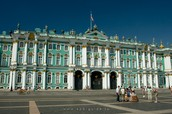Hermitage Museum-Russia's largest and one of the largest in the world of art and historical museums.