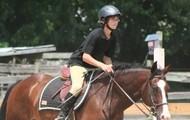 Zak riding Zach