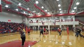 Faculty vs. Student Volleyball Game