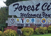 Forest City Sign