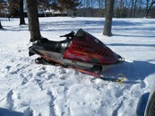 My other snowmobile