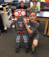 Max's Teacher of the Day with Meccanoid