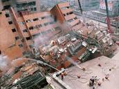 Buildings crashed,