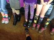 Mtn. Home ~ Silly Sock Day