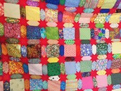 Scrap quilt by Gay