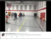 MMS PE students get golf introduction