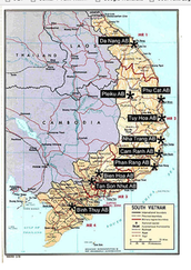 Another map of Vietnam