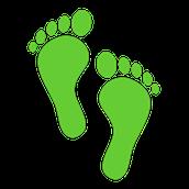 - Digital Foot Print picture