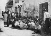 """שאלת חקר : כיצד מאורעות תרפ""""ט השפיעו על הישוב היהודי?"""