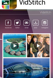 Bonus tip of the day!  .......................... Create media collages with VidStitch