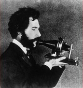 Alexander with the first working telephone