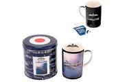RAF Lancaster Bomber Mug in Co-ordinating Tin Box