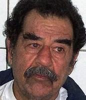 Saddam a los 69 años de edad