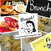 Come out for Brunch 10am-2pm Saturday & Sunday