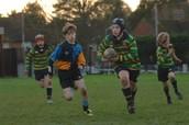 U11 Rugby Match