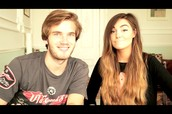 Pewdiepie and CuitepieMarzia