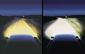 Xenon's lights compared