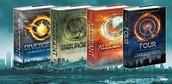 Divergent, Insurgent, Allegaint, Four