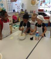 PRS Chefs hard at work!