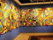 cette peinture est très célèbre dans le musée
