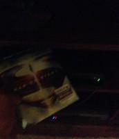 Watching a Blu-Ray!