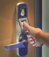 Biometric Fingerprint scan to open you door