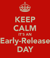 OCTOBER 9th- Early Release