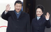 China's president and his wife