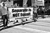 """Seperate but Equal"""