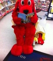 Clifford comes to visit!